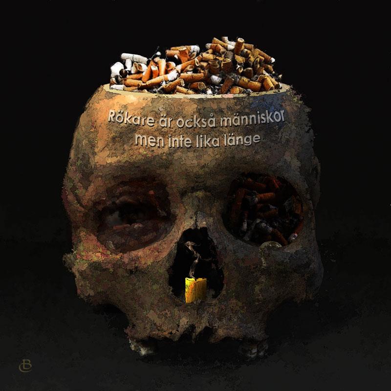© Björn Carlén / BUS 2015: SMOKERS ALT II, 25x25 cm