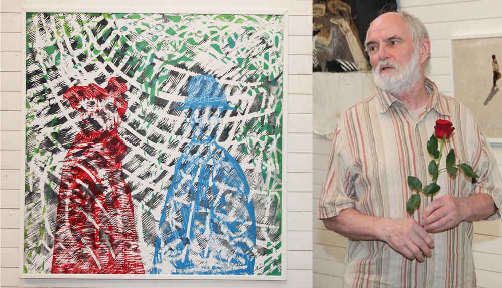 Walter Ruth berättade om sitt konstnärskap